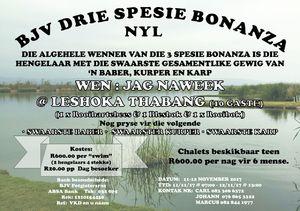 BJV Drie Spesie Bonanza - Nyl